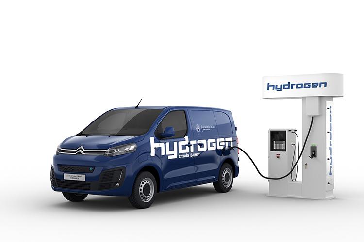 Citroën ë-Jumpy Hydrogen.