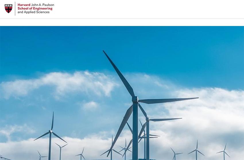 Estudio de Harvard sobre el coste de producción de hidrógeno con energía eólica.