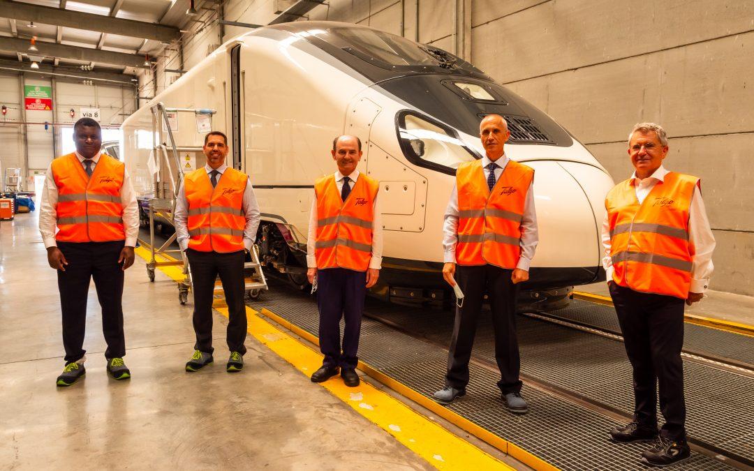 trenes de hidrógeno renovable