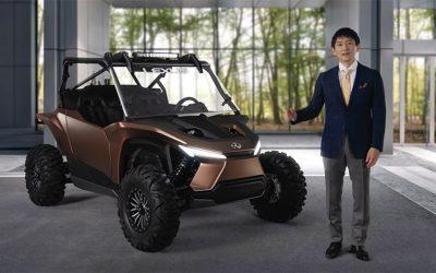 Lexus muestra su nuevo y espectacular concept: el Recreational Offhighway Vehicle (ROV)